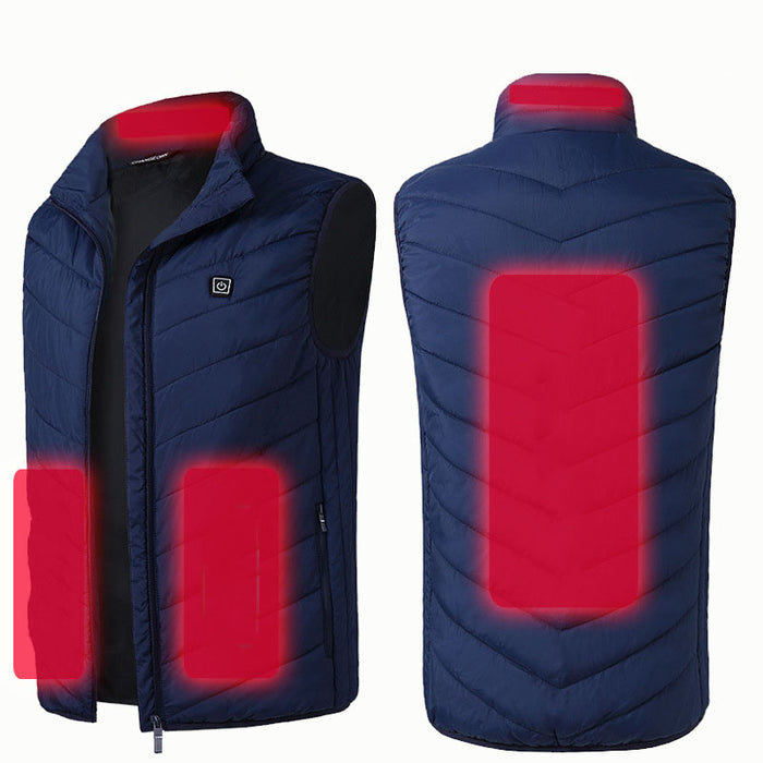 Graphene electric heating vest