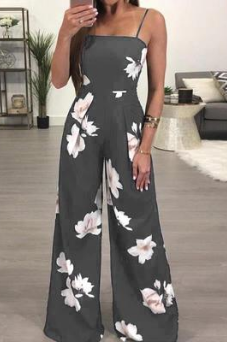 Sleeveless jumpsuit for summer