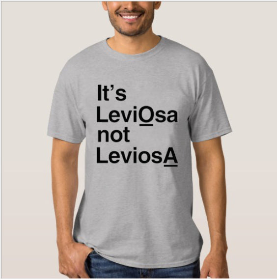 It's leviosas not leviosa personality T-shirts for men and women European and American street short sleeves AliExpress