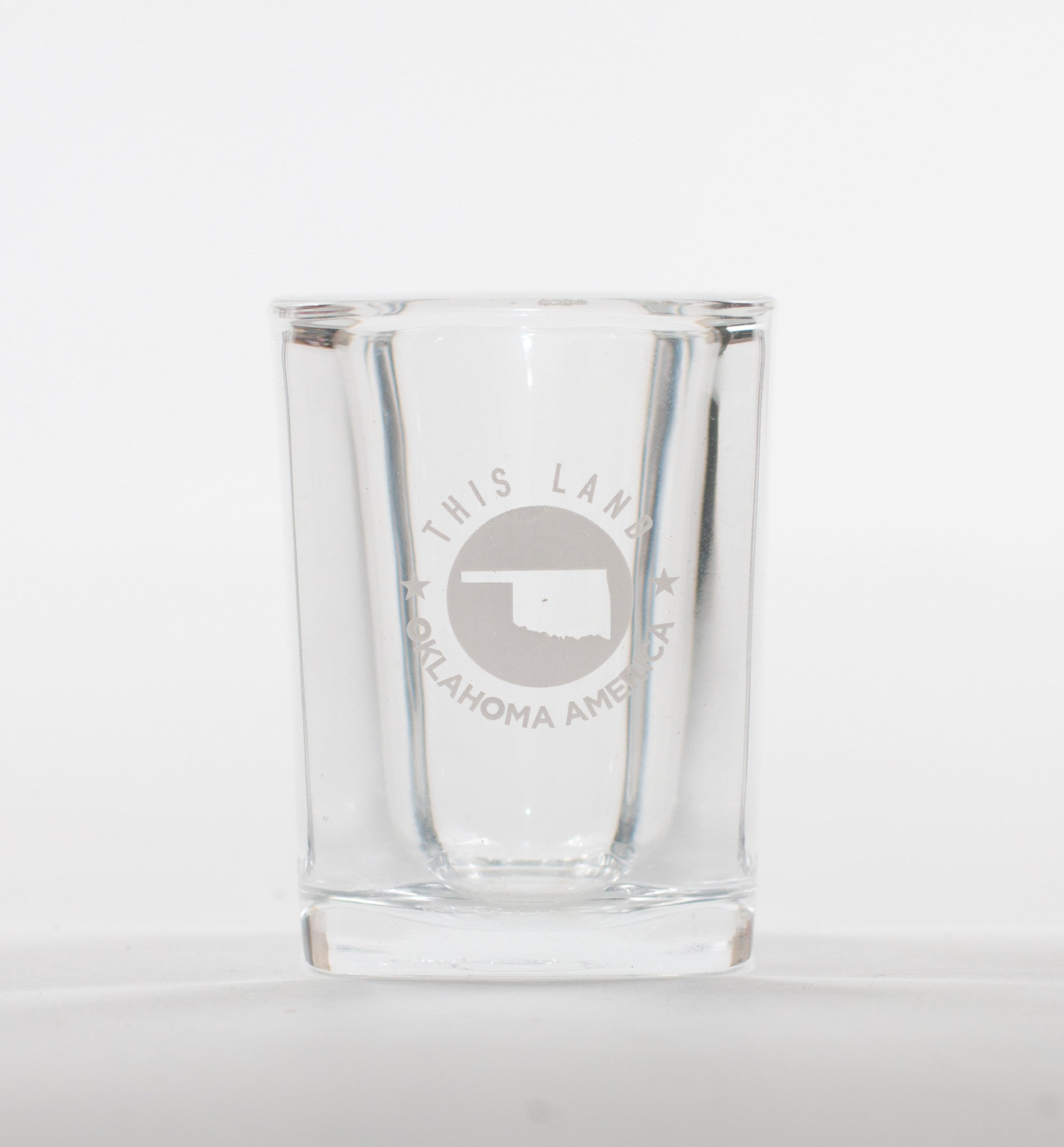This Land Logo Shot Glass