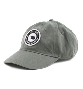 Logo Patch Baseball Hat - Smokey Grey