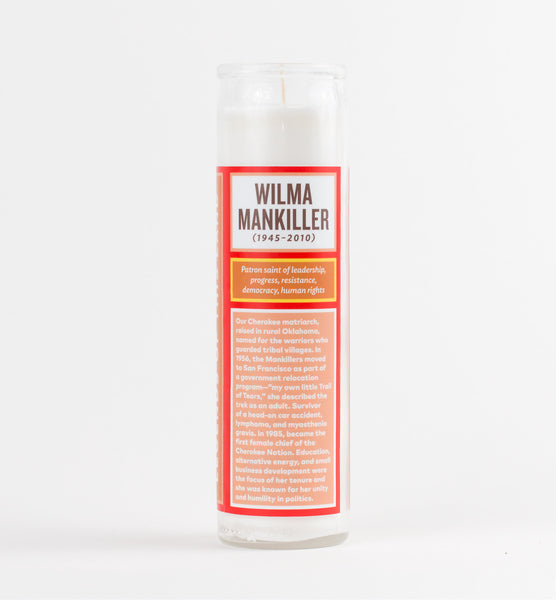 Legends of This Land - Wilma Mankiller Candle