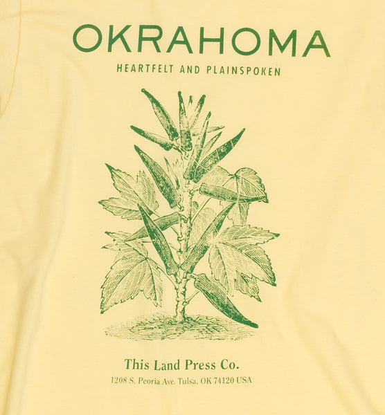 Okrahoma T-Shirt - Vintage Yellow