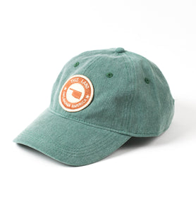 Logo Patch Baseball Hat - Moss Green