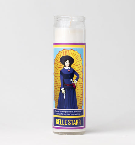 Legends of This Land - Belle Starr Candle
