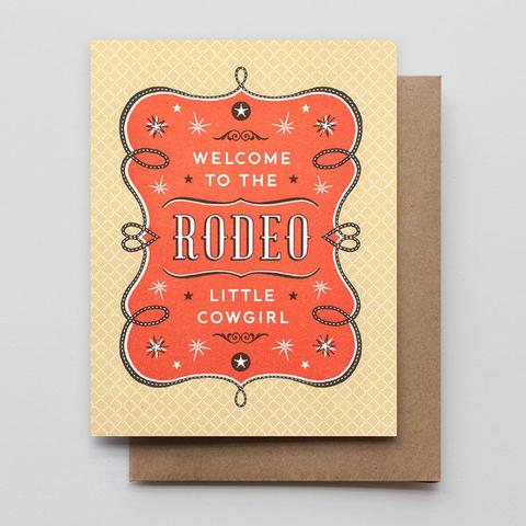 Rodeo Cowgirl Card
