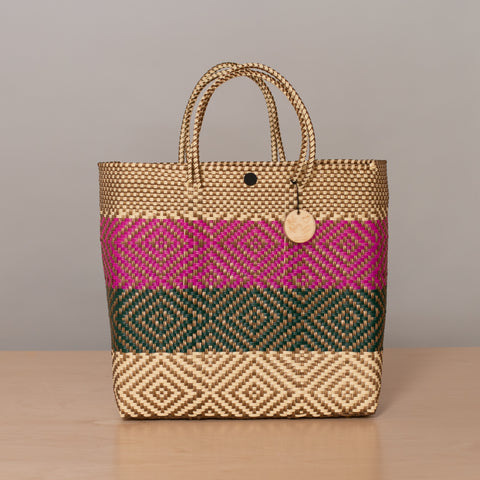 Crystal Handwoven Tote - Medium