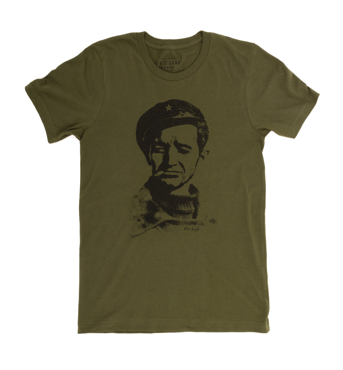 Woody Icon Unisex T-Shirt - Military Green