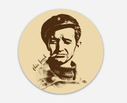 Woody Icon Sticker