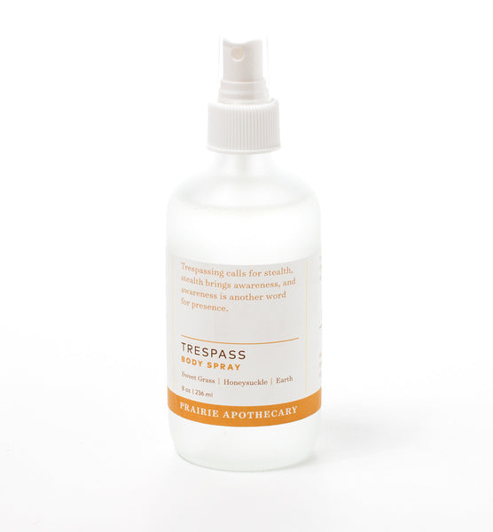 Prairie Apothecary: Trespass 8oz. Spray