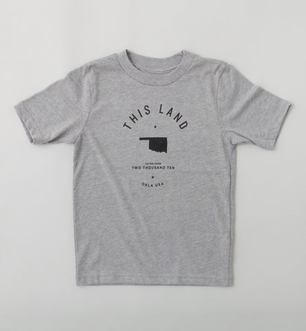Kid's Logo T-Shirt - Heather Grey