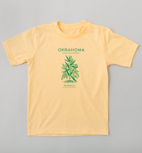 Kid's Okrahoma T-Shirt - Vintage Yellow