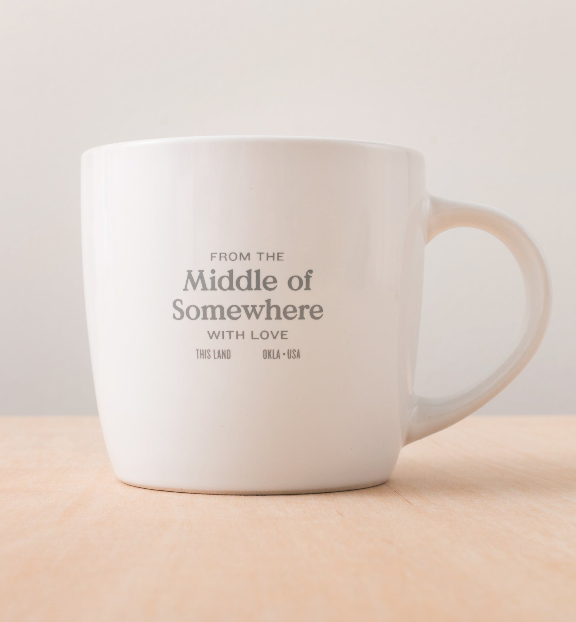 Middle of Somewhere Mug