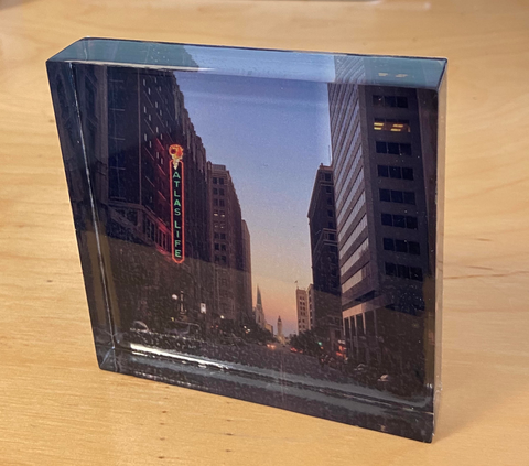Anitra's Eye Acrylic Photo Blocks