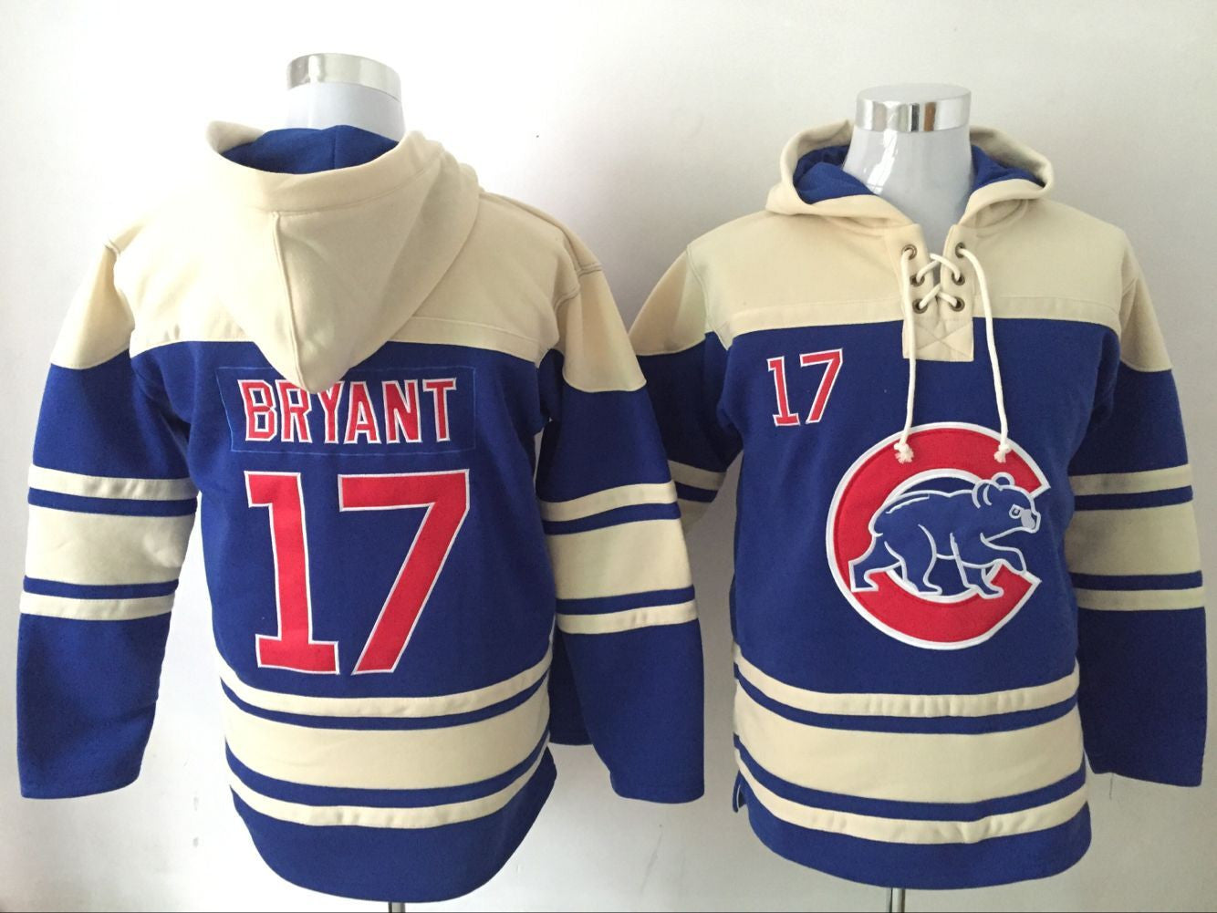 Sport Hoodie Baseball - Cubs Jersey Style