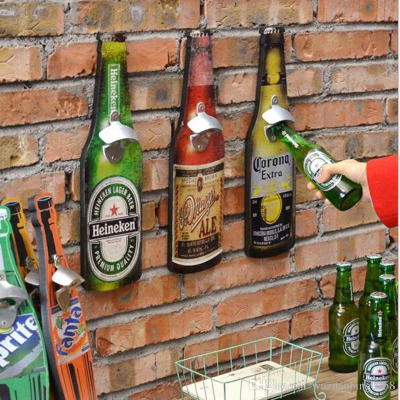 Signs: Beverage Retro Hanging Bottle Opener
