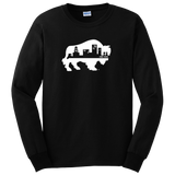 BUFFALO SKYLINE - Long Sleeve T-Shirt