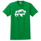 "BUFFALO SKYLINE ""Irish Green"" - Short Sleeve T-Shirt"