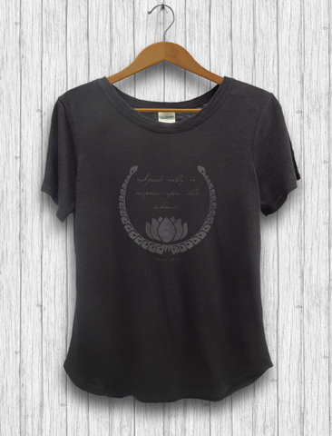 "Organic Cotton and Bambu - ""Speak Only"" T-Shirt"