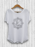 "Organic Cotton and Bambu - ""Hands"" T-Shirt"