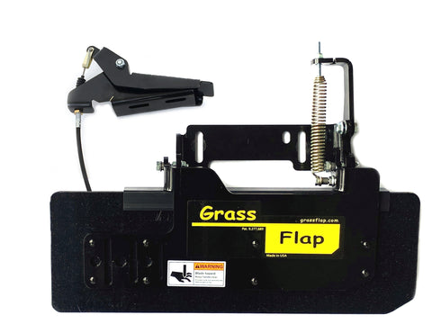 44P50-2 Low Profile Heavy-Duty GrassFlap with BE Pedal