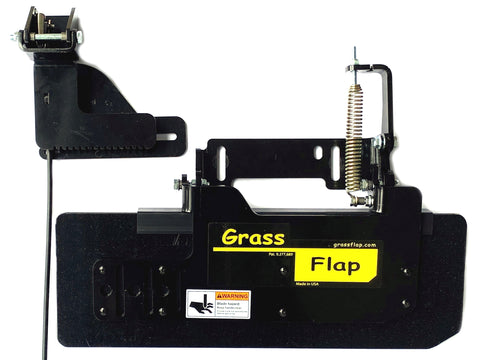 41W70-5L-A4 Low Profile Heavy-Duty GrassFlap with SEL Pedal Includes Wright No-Drill Mount