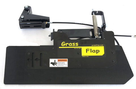 41P70-5P Low Profile Heavy-Duty GrassFlap with BE Pedal Requires Optional Pedal Mounting plate.