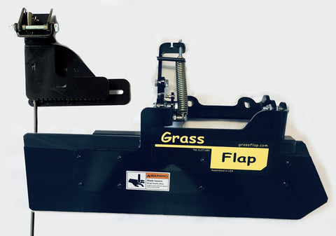 51P50-5L Low Profile Heavy-Duty GrassFlap with SEL Pedal and Center Located Spring Mount