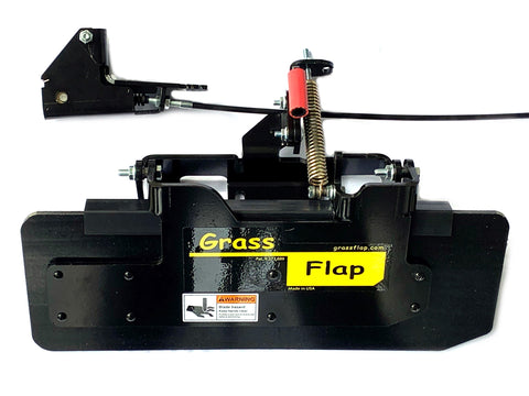 GF3-4270-5-A22 Heavy-Duty GrassFlap with SE Pedal Includes Strike Plate