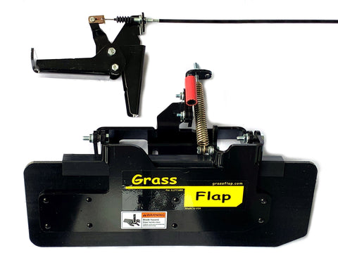 GF3-4270-6 Heavy-Duty GrassFlap with RE Pedal