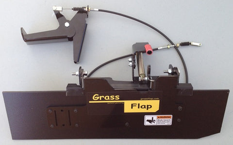 GrassFlap, foot operated OCDC for WalkBehind mowers
