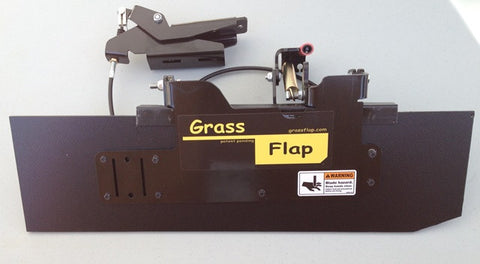 GF3-1M50-2P Heavy-Duty GrassFlap With BE Pedal and pedal mounting plate