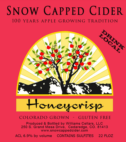 Honeycrisp Cider - 6 Pack