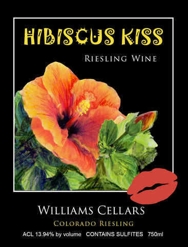 Hibiscus Kiss Riesling