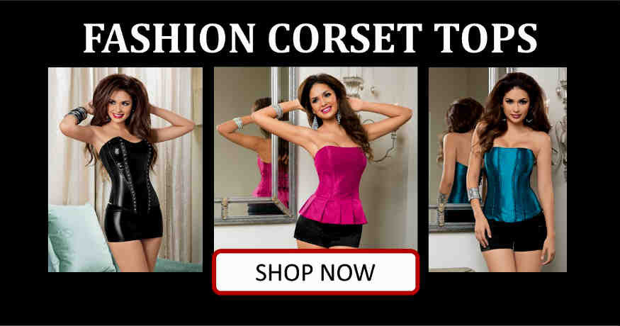Shop fashion corsets in Corpus Christi