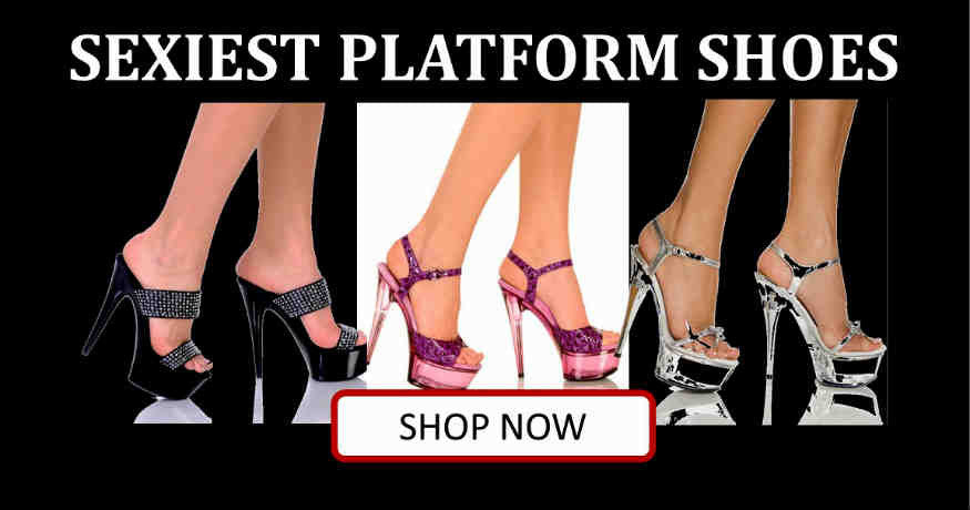 Shop sexy platform shoes in Corpus Christi