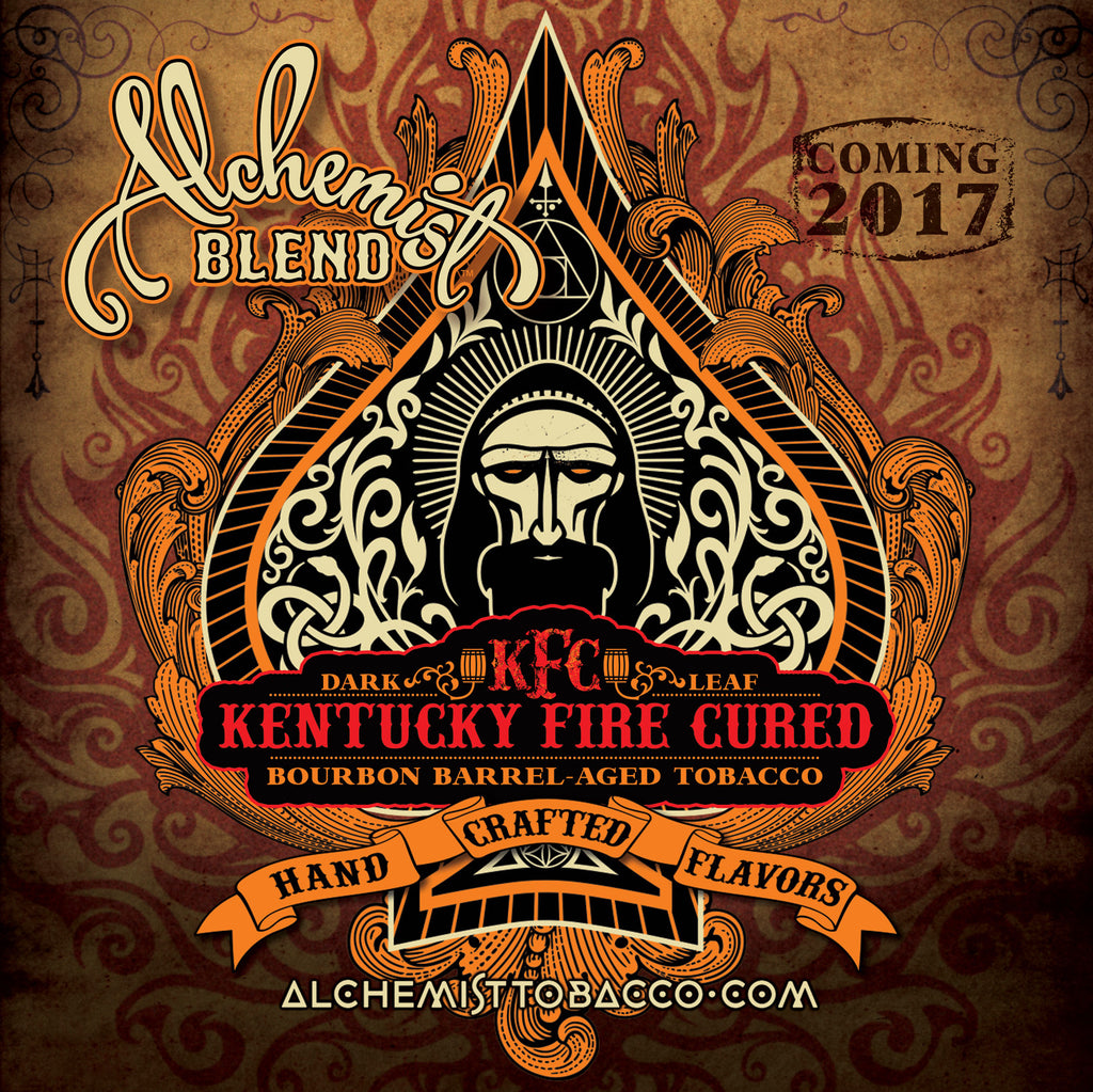 Alchemist Blend Tobacco - Kentucky Fire Cured (KFC) Line