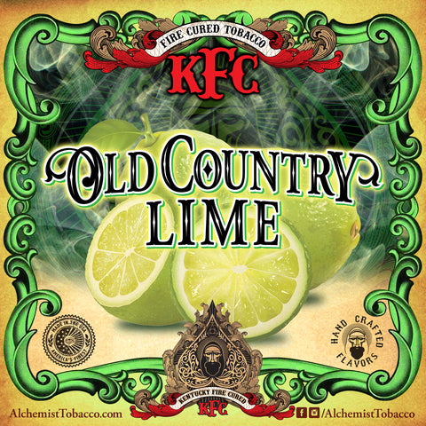 Old Country Lime - KFC - Alchemist Tobacco
