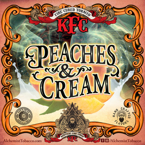 Peaches & Cream - KFC - Alchemist Tobacco