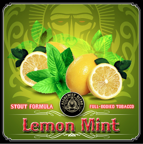 Lemon Mint - Stout - Alchemist Tobacco