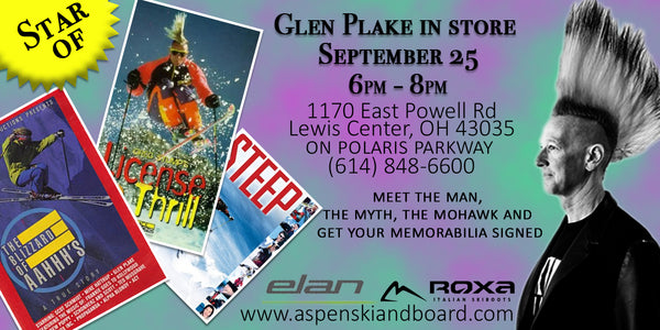 Glen Plake in Store September 25 | 6pm - 8pm