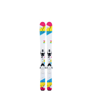 K2 Luv Bug Junior Girls System Skis 2020