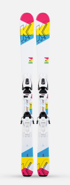 K2 Luv Bug (Flat) Junior Girls Skis 2020