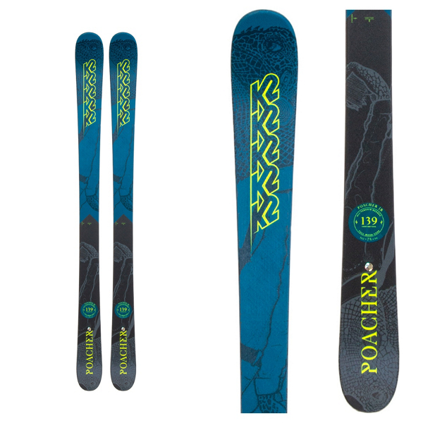 K2 Poacher Jr Skis 2019
