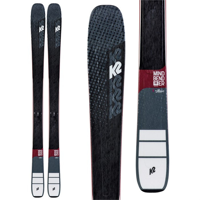 K2 Mindbender 88 Ti Alliance (+ Marker Squire Bindings) Women's Ski Package 2020