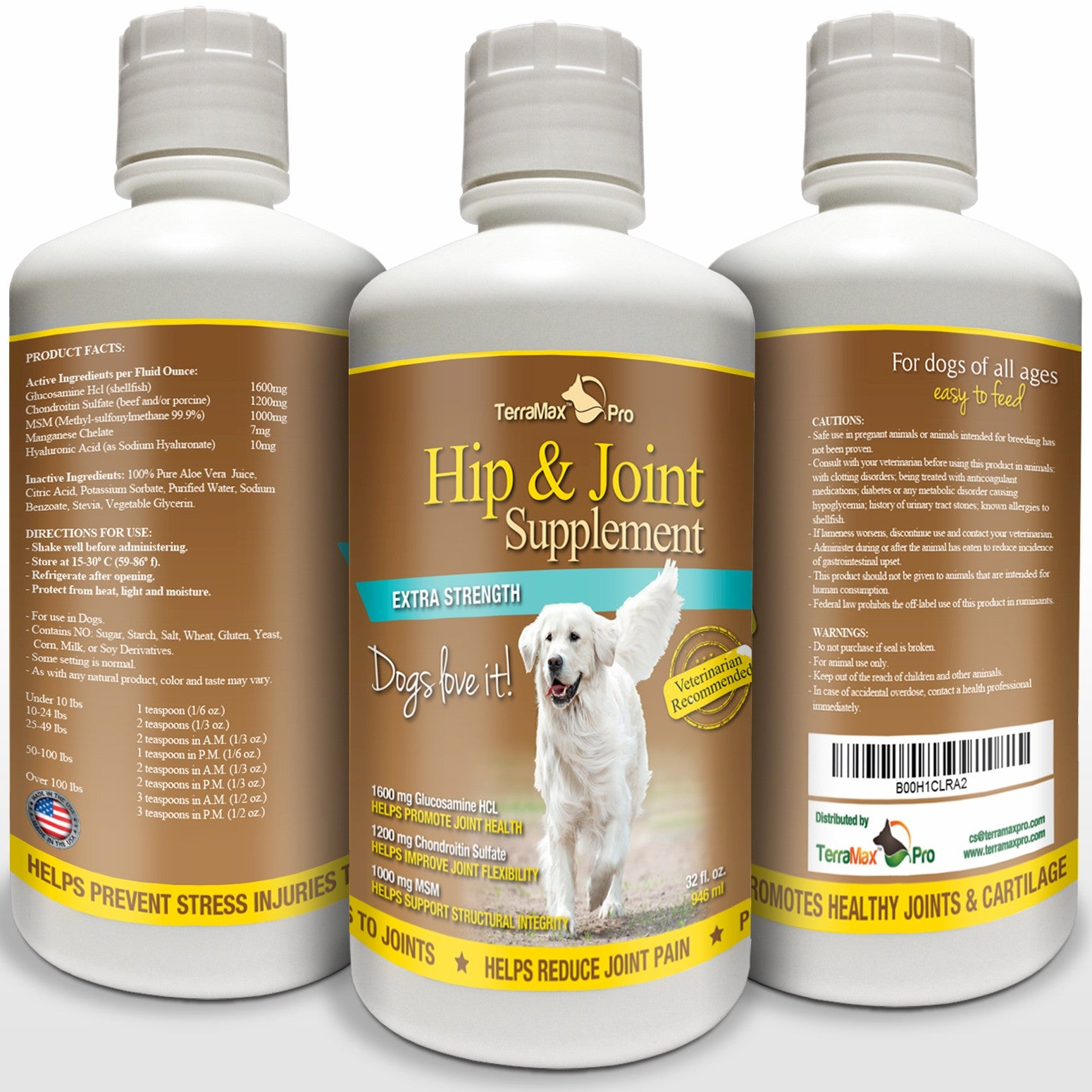 Hip & Joint Supplement for Dogs | TerraMax Pro