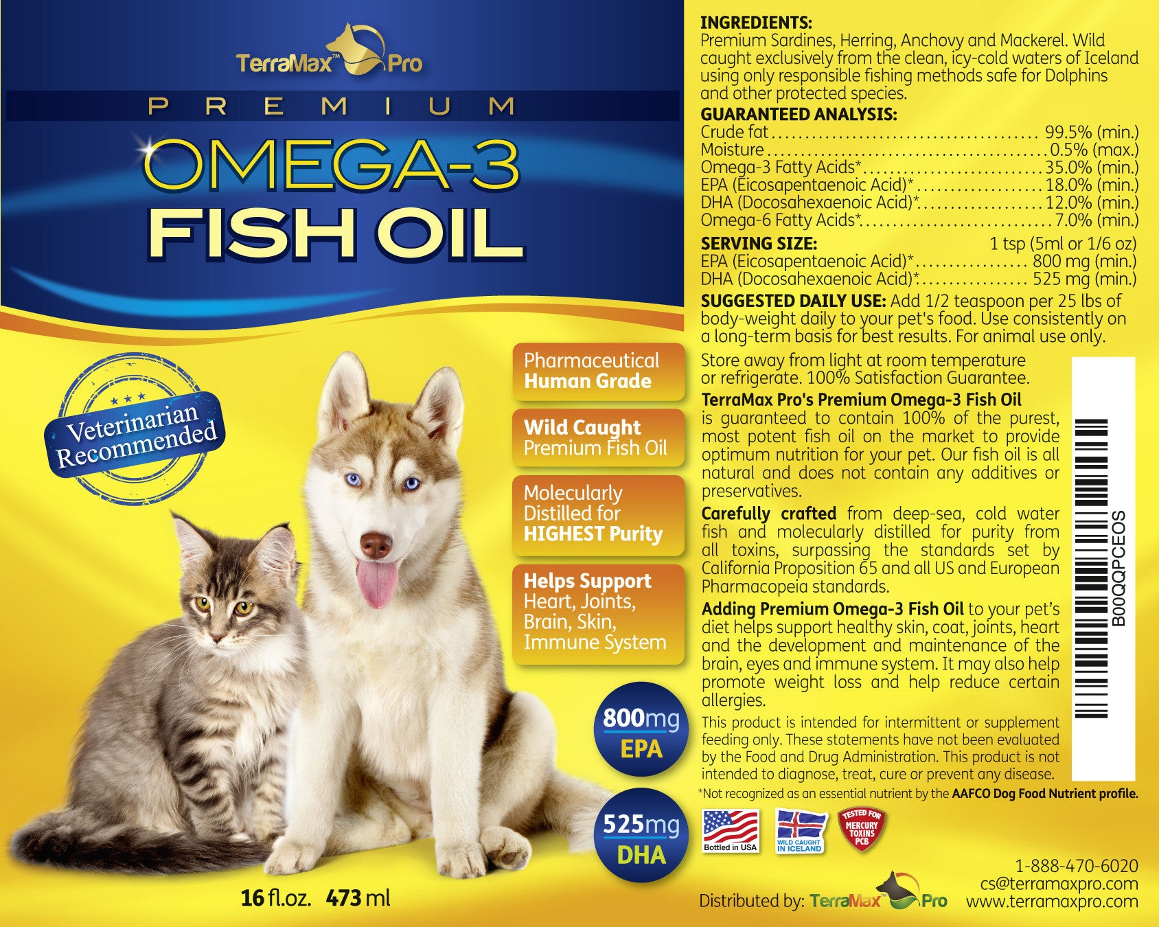 Omega  Fish Oil Can Dogs Eat This