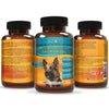 Premium Wild Alaskan Salmon Oil for Dogs and Cats in Easy-to-Use Softgels