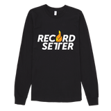 """RecordSetter Logo"" Long Sleeve T-shirt"