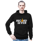"""RecordSetter Logo"" Hooded Sweatshirt"
